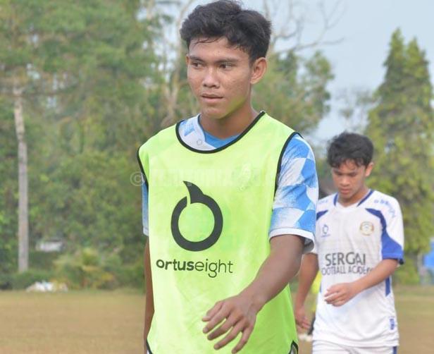Pemain SFA Sergai Muhammad Ridho Abdillah Lolos Seleksi Popnas ke XVI Palembang-Bangka Belitung