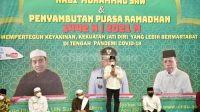 Gubsu Hadiri Peringatan Isra Mikraj dan Sambut Ramadan di UIN Sumut